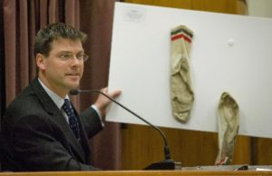 forensic scientist John Manlove gives evidence